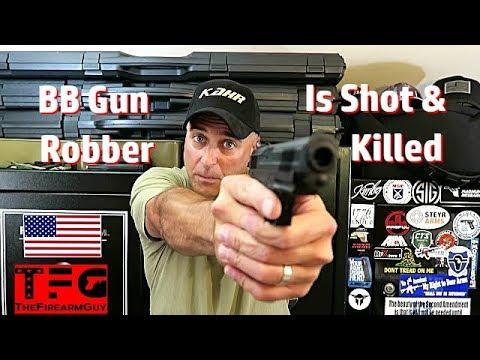 Xxx Mp4 BB Gun Robber Is Shot At Georgia Restaurant TheFireArmGuy 3gp Sex