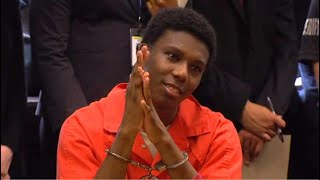 VIDEO: 17-year-old convicted killer smiles in court while victim