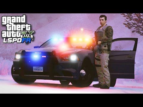 GTA 5 LSPDFR SP #226 - (Bad Cop) Don't Look at Me!