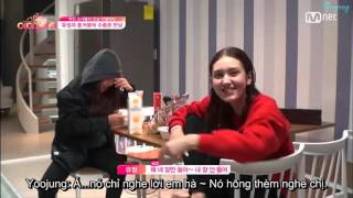 [MYJSubTeam] [Vietsub] Stand by I.O.I ep 1 Yoojung cut - It's moving!