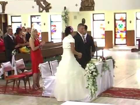 WZRUSZAJĄCY ŚLUB Brat zrobił niespodziankę siostrze Damian Maliszewski Hallelujah