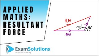 Resultant Force - Two Forces : ExamSolutions