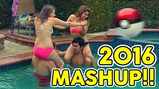 2016 MASHUP - ULTIMATE MANNEQUIN CHALLENGE!! - Every hit song in 4 minutes
