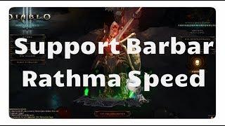 Diablo 3: Der Support Barbar für die Rathma Speeds