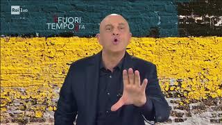 Maurizio Crozza e il magone da elezioni - Che fuori tempo che fa 12/02/2018
