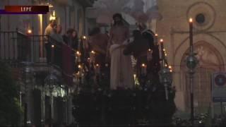 Cristo de la Salud y Virgen de los Dolores salieron de la Casa Hdad de la Bella de Lepe