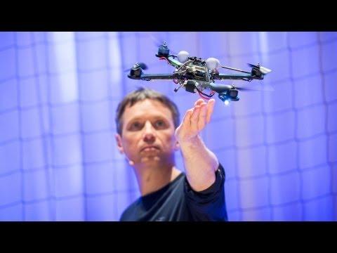The astounding athletic power of quadcopters | Raffaello D'Andrea