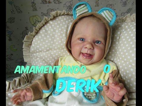 AMAMENTANDO O DERIK MEU BB REBON