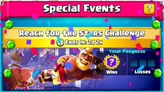 New STAR REACH CHALLENGE in Clash Royale!