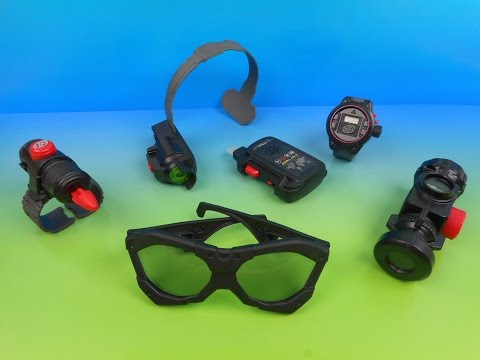 2014 SPY GEAR SET OF 6 McDONALD'S HAPPY MEAL KID'S TOY'S VIDEO REVIEW