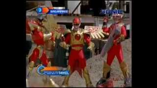 Power Rangers Wild Force vs Time Force In Hindi