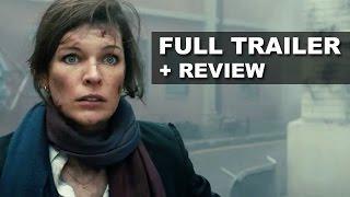 Survivor 2015 Official Trailer + Trailer Review - Milla Jovovich : Beyond The Trailer