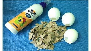 WOWW!! Beautiful decorative showpiece idea using Egg shells |waste material craft