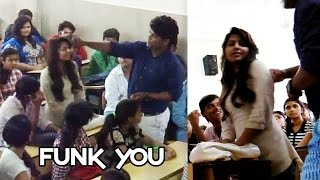 Girl Harassed In Classroom By Professor - Funk You (Social Experiment)