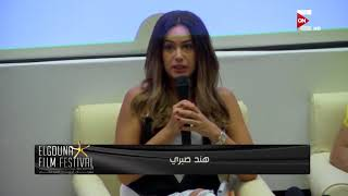 رسالة مهرجان الجونة السينمائي .. جانب من ورشة طيارة للفيلم القصير