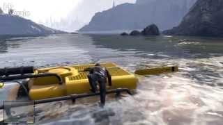 GTA V - Dinghy, Submarine & Scuba Gear Locations.