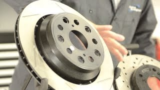 Slotted vs Drilled Rotors -- Presented by Andy's Auto Sport