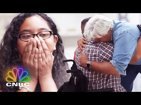 Jay Leno Has A Big Surprise For This Disabled Veteran Jay Leno s Garage CNBC Prime
