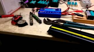 Harvesting laptop batteries the easy way
