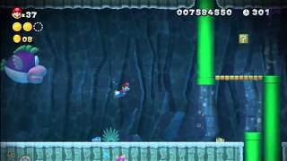 Superstar Road-3 Swim For Your Life [New Super Mario Bros Wii U]