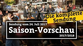 """Saisonvorschau 2017/18   """"1953 – Der Dresdner Fußball-Talk"""""""