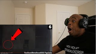 CAN YOU SEE IT? - Top 14 Scariest Ghosts YouTubers Caught on Tape REACTION!