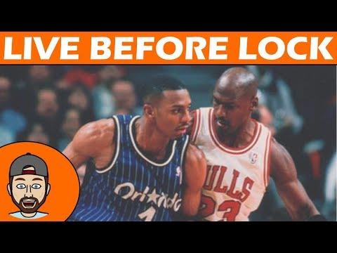 NBA DFS | Live Before Lock | Monday 1/22 | FanDuel & DraftKings