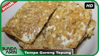 Resep Masakan  Sehari Hari Tempe Goreng Tepung Mudah Simpel Cooking Recipes Indonesia Bunda Airin