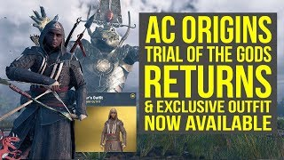 Assassin's Creed Origins Trial of The Gods RETURNS & Aguilar Outfit BACK (AC Origins Aguilar Outfit)