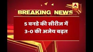 India humiliate Australia with 5-wicket win in the 3rd ODI, take unassailable 3-0 series l