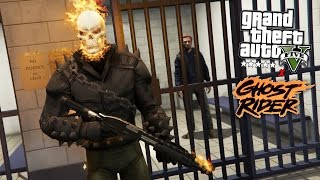 GTA 5 Mods - GHOST RIDER POLICE PATROL! GTA 5 Ghost Rider LSPDFR Mod Gameplay! (GTA 5 Mods Gameplay)