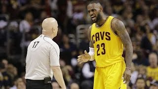 LeBron YELLS at Referee Over Foul: Call That Sh*t the First Time, Motherf***er!
