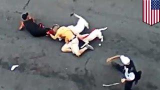 Pitbulls : une femme du Bronx lâche ses chiens, qui attaquent un passant