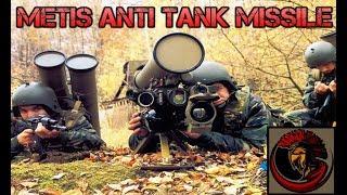 Russian  9K115 Metis Anti-Tank Missile System | AT-7 Saxhorn