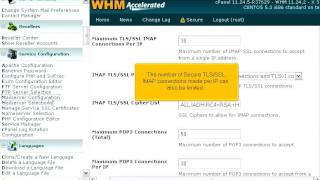 How to configure your incoming mail server in WHM (POP3/IMAP)