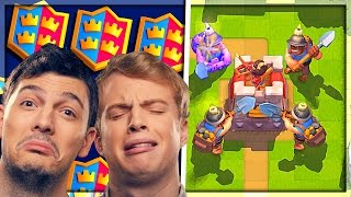 2v2 QUAD MINERS with Chief Pat - Clash Royale