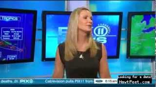 Linda Church goes barefoot on the air