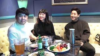 [6] BJ최군 & 필메 & 고말숙 강남 (소소한 연말)술먹방!! - KoonTV
