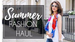 SUMMER FASHION HAUL | Dolce & Gabanna, Gucci, Hermes, Massimo Dutti, Zara | Jasmina Bharwani