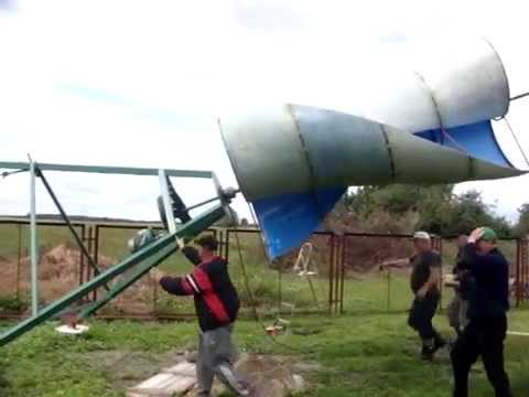 Test turbiny