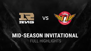 RNG vs SKT All Games Highlights Semi-final MSI 2016 Mid Season Invitational - Royal v SKTelecom T1