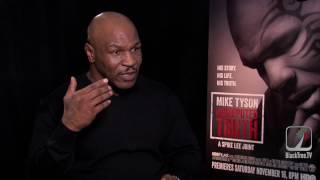 Mike Tyson gives Chris Brown some advice