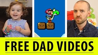 Toddler Review: Super Mario World | FREE DAD VIDEOS