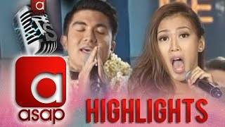 Luis Manzano versus Alex Gonzaga on ASAP stage