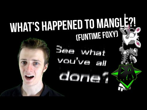 WHAT'S HAPPENED TO MANGLE?! - DAGames THEORY (FNAF WORLD)