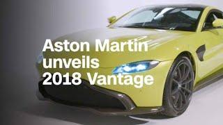 See Aston Martin's redesigned Vantage