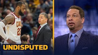 Chris Broussard reacts to Cleveland's Ty Lue taking leave of absence for health reasons | UNDISPUTED