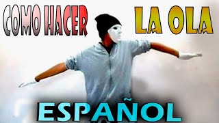 tutorial de como bailar dubstep dance (popping) en español | ( WAVES )