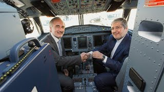 Iran Air Delivery Ceremony in Toulouse - May 2017