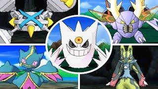 Pokémon Sun & Moon - All SHINY Mega Evolutions